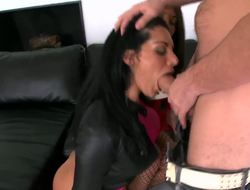 Take a look at this perverted bitches and long cock bastard, their names are Bella Reese,Manuel Ferrara and Mischa Brooks, they will show you breathtaking group action with big load of cum in the end!