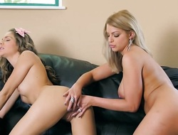 Brooklyn Chase and Kimmy Granger receive pussy acquainted