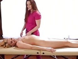 AllGirlMassage Lesbo Squirting Facial